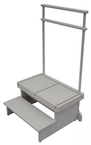 Extra Wide 2-Step Platform for CR & DR Systems