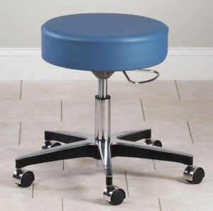 Mid Series 5-Leg Pneumatic Stool with D-Lever