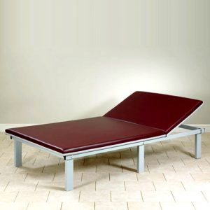 Upholstered Top Mat Platform with Adjustable Backrest