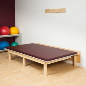 Physical Therapy Space Saving Mat Platform