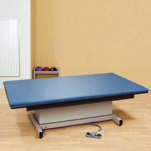 Physical Therapy Hi-Lo Mat Platform with Removable Mat
