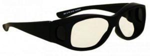 Model 33 Eurolite Fitover Radiation Protection Glasses - Black