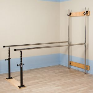 Physical Therapy Wall Mounted Folding Parallel Bar