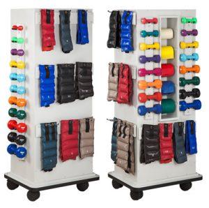 Corbin SlimRac Physical Therapy Equipment Rack