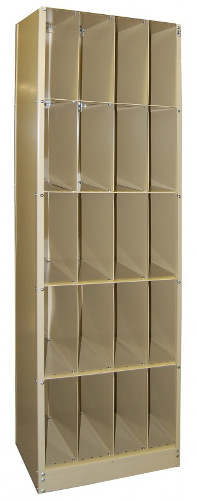 "Techno-Tuff X-ray File Cabinet - 24"" x 84"""