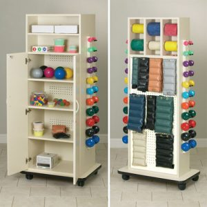 Cabinet Rack with Doors Plus