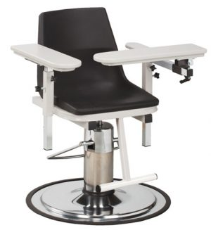 H Series EZ Clean Blood Draw Chair with ClintonClean Arms