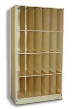 Techno-Tuff X-ray File Cabinet 4-Tier