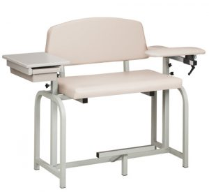 Lab X Series Extra Tall & Wide Blood Draw Chair