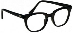 Model 70-PC Economy Radiation Protection Glasses - Black