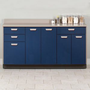 Base Cabinet with 5 Doors and 3 Drawers