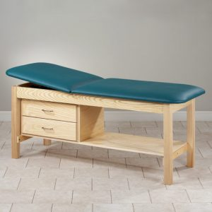 Model 81013 Eco Friendly Wood Patient Treatment Table with Drawers