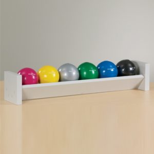 Single Level Soft Grip Ball Rack with Ball Set