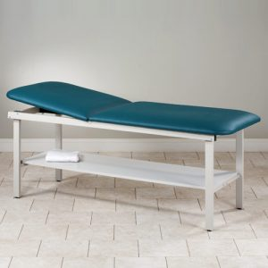 Model 83020 Eco Friendly Steel Patient Treatment Table with Shelf