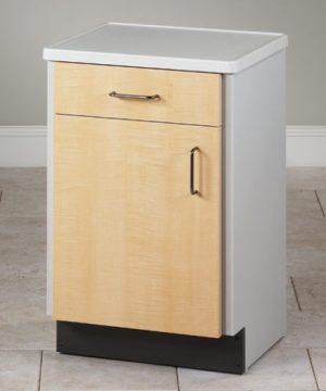 Molded Top Bedside Medical Cabinet