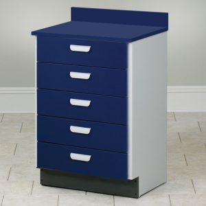 Medical Treatment Cabinet with 5 Drawers