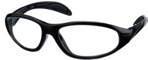 Black - Model 99 UltraLite Wrap-Around Leaded Glasses