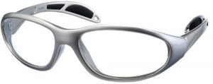Silver - Model 99 UltraLite Wrap-Around Leaded Glasses