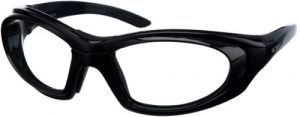 Model 9935 SuperLite Wrap-Around Leaded Glasses - Black