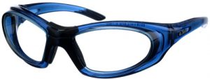 Model 9935 SuperLite Wrap-Around Leaded Glasses - Blue Translucent