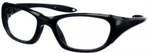 Model 9941 UltraLite Wrap-Around Leaded Glasses - Black