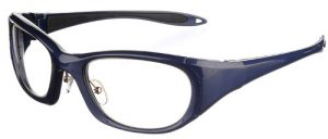 Model 9941 UltraLite Wrap-Around Leaded Glasses - Blue