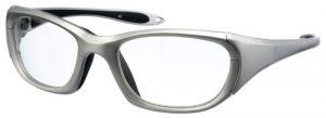 Model 9941 UltraLite Wrap-Around Leaded Glasses - Silver