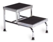 Bariatric Double Step Stool - NO Handrail
