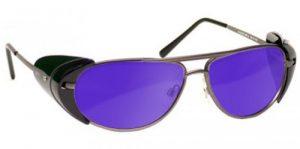 Dye, Diode and HeNe, Ruby Laser Safety Glasses - Model #600