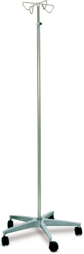 MRI Compatible IV Pole 4 Hook
