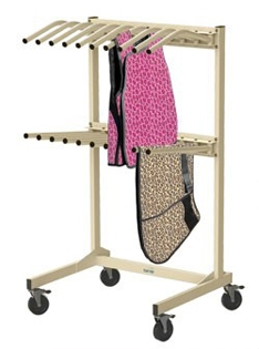 Bar-Ray Vest and Skirt Mobile X-ray Rack