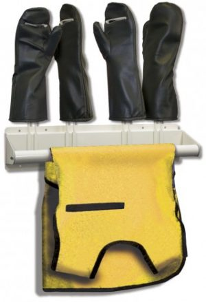 Techno-Aide X-ray Apron & Glove Rack
