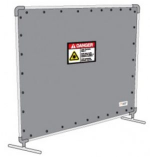 8 x 8 ft Laser Safety Barrier