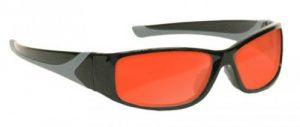 Argon KTP Laser Safety Glasses - Model #808 - Black