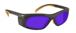 Dye, Diode and HeNe Ruby Laser Safety Glasses - Model #206
