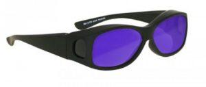Dye, Diode and HeNe, Ruby Laser Safety Glasses - Model #33