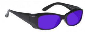 Dye, Diode and HeNe Ruby Laser Safety Glasses - Model #375