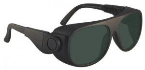 Broadband Alignment Filter Laser Safety Glasses - Model #66 - Black