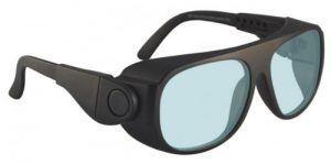 AKG-5 Holmium/Yag/Co2 Laser Safety Glasses - Model #66 - Black