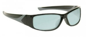 AKG-5 Holmium/Yag/Co2 Laser Safety Glasses - Model #808 - Black