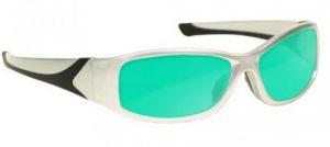 Ruby Laser Safety Glasses - Model #808 - Silver