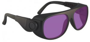 Vbeam Vbeam2 Dye Filter Laser Safety Glasses - Model #66 - Black