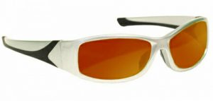 YAG Double, Harmonics Laser Safety Glasses - Model #808 - Silver