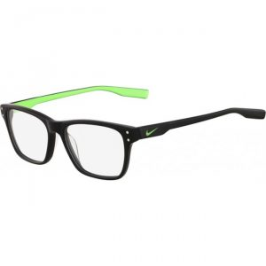 Nike 7230 Radiation Protection Glasses - Shiny Black Flash Lime