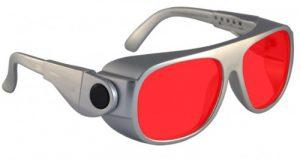 Argon Alignment 8 Laser Safety Glasses - Model #66 - Silver