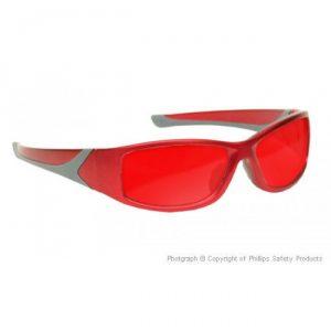 Argon Alignment Laser Safety Glasses - Model #808 - Red
