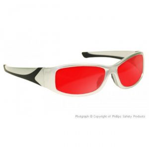 Argon Alignment Laser Safety Glasses - Model #808 - Silver