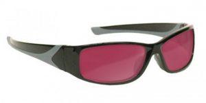 Alexandrite/Diode Laser Safety Glasses - Model #808 - Black