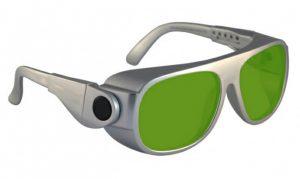 D680 UV Excimer Diode InGaAs Laser Safety Glasses - Model #66 - Silver