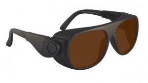 DH83 Filter Laser Safety Glasses - Model #66 - Black